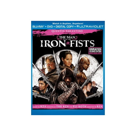 The Man With The Iron Fists (Unrated Extended Edition) (Blu-ray + DVD + Digital Copy + UltraViolet) Marvel Beta Ray Bills