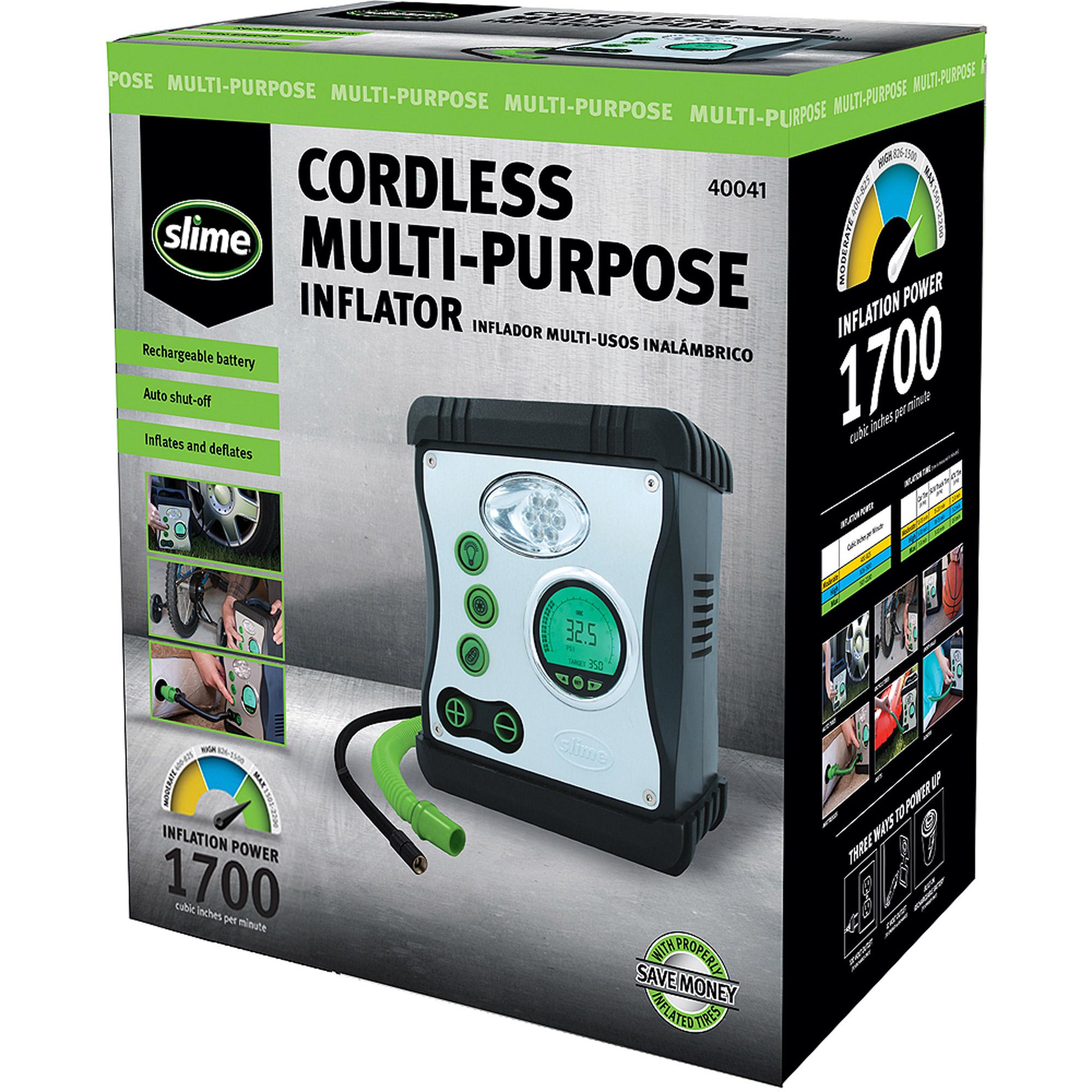 Slime Cordless Multi-Purpose Inflator - 40041