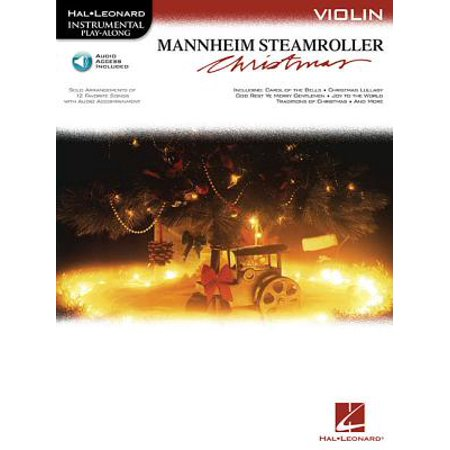 Mannheim Steamroller Christmas : Instrumental Play-Along Series Book with Online Audio for Violin (Mannheim Steamroller Halloween 2)