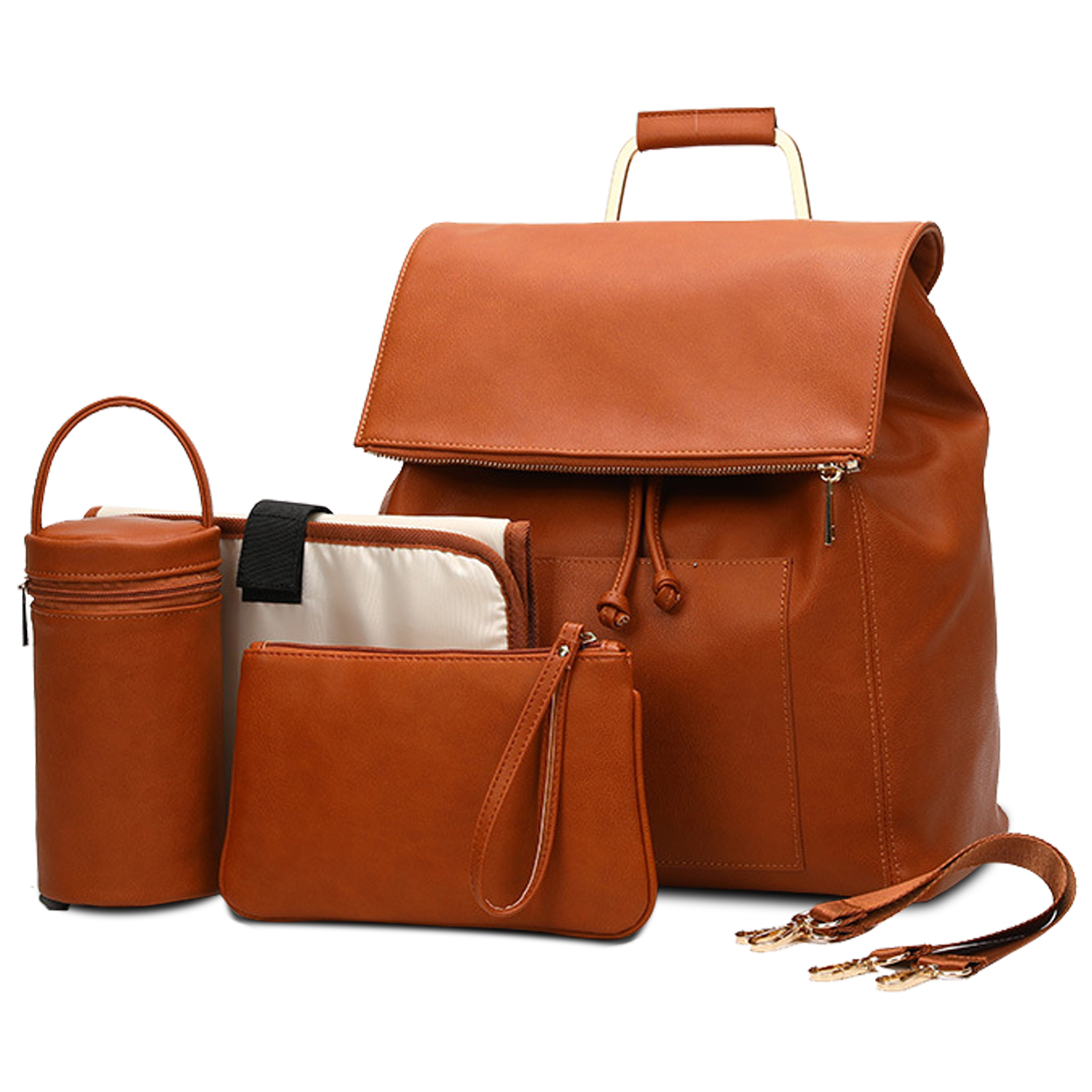 Personalized Gift for Women Leather Backpack Laptop Backpack Large Leather Backpack Brown Leather Backpack Leather Diaper Bag Backpack