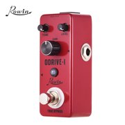Rowin ODRIVE-I Classic Blues Style Overdrive Guitar Effect Pedal Aluminum Alloy Shell True Bypass
