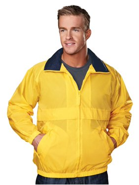 Tri-Mountain Men's Big And Tall Waterproof Shell Jacket