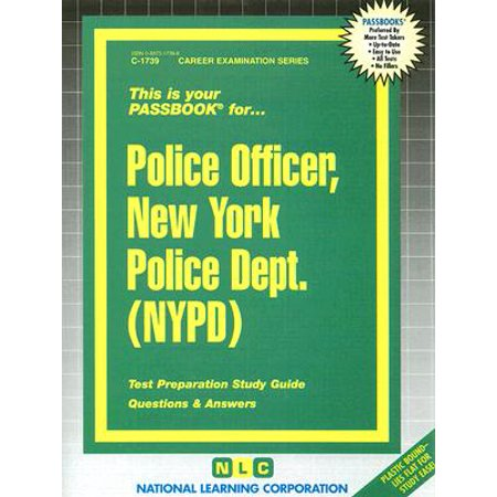 Police Officer, New York Police Dept. (NYPD) - Gift Ideas For Police Officers