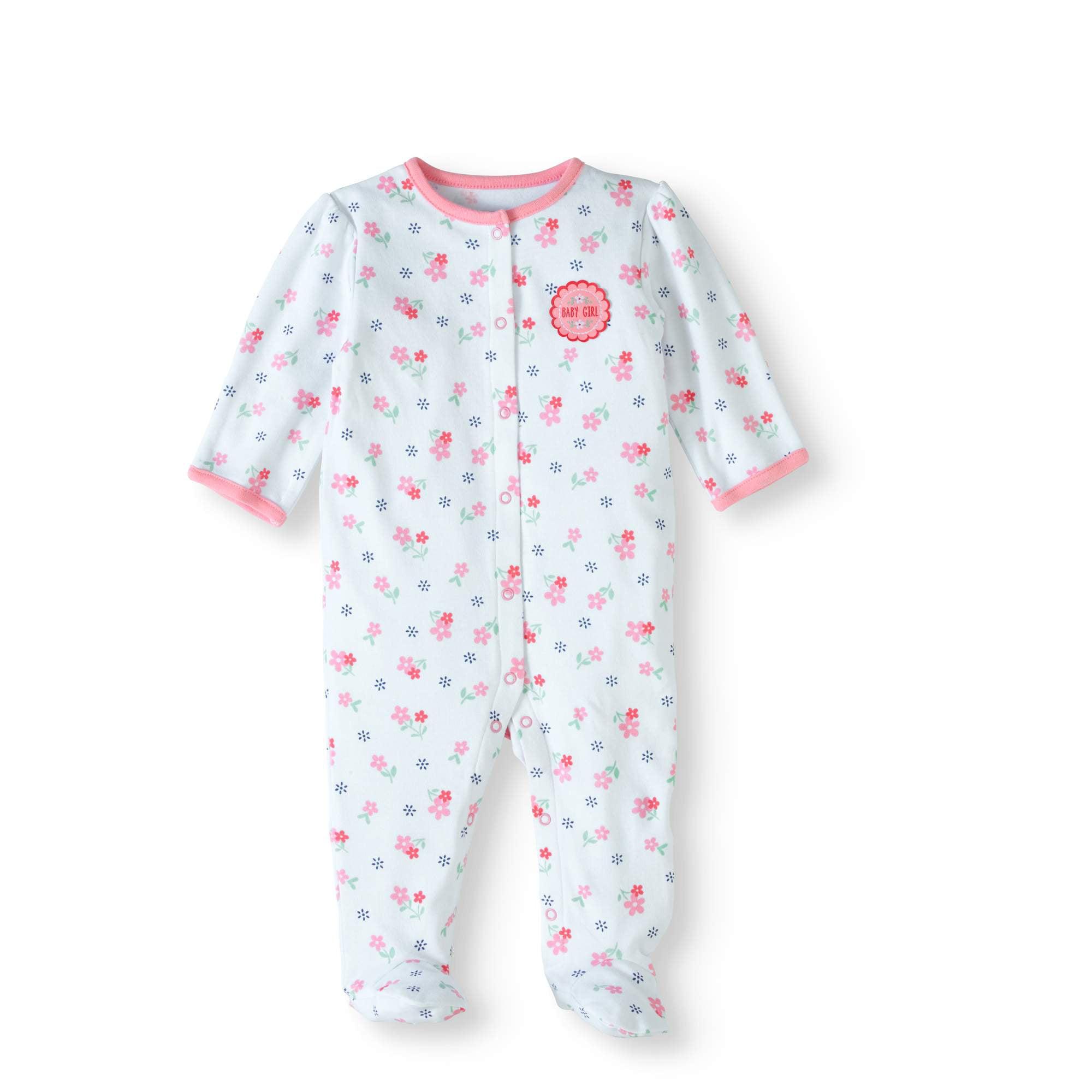 Bon Bebe Bon Bebe Newborn Baby Girl Footed Sleep N Play