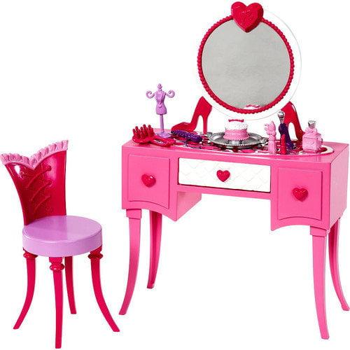 Barbie Glam Vanity Play Set