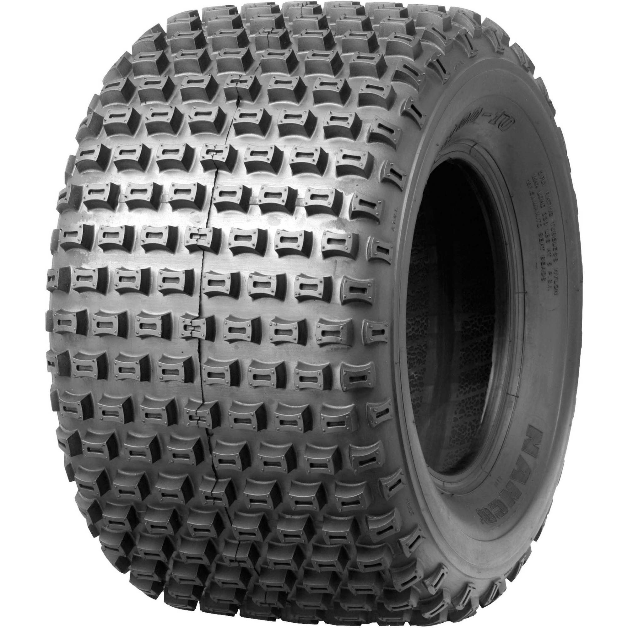 HI-RUN 2-Ply Knobby ATV Tire AT22x11-8