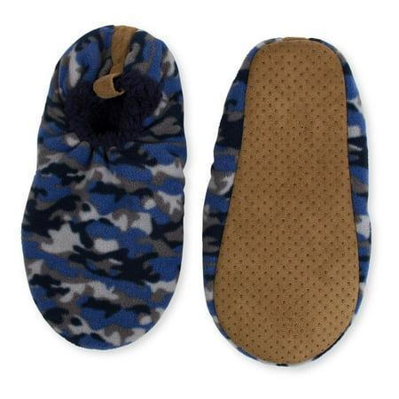 d4d749fd2e4a Fuzzy Babba Men s Camo Slippers - Walmart.com