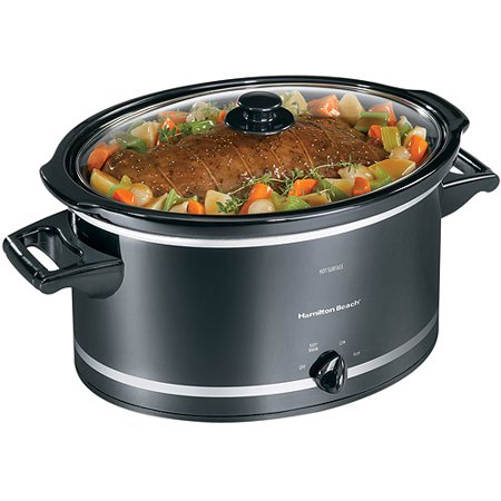 Hamilton Beach 8 Quart Oval CounterTop Slow Cooker |Model# 33182
