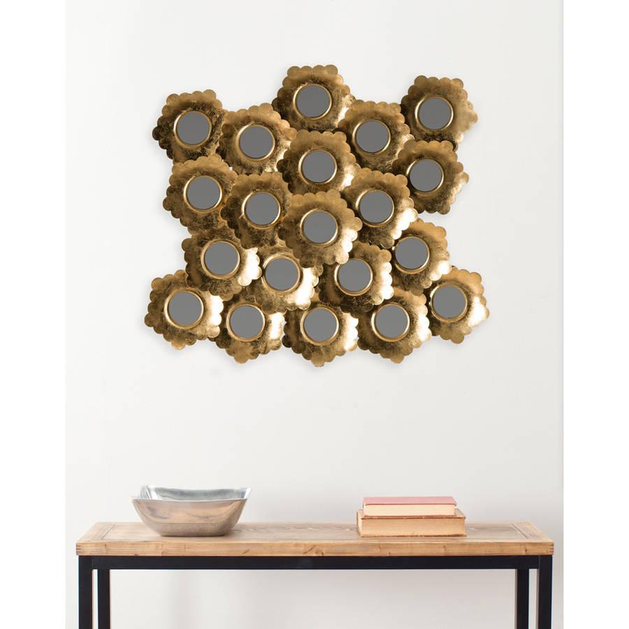Safavieh Coral Mirror, Antique Gold