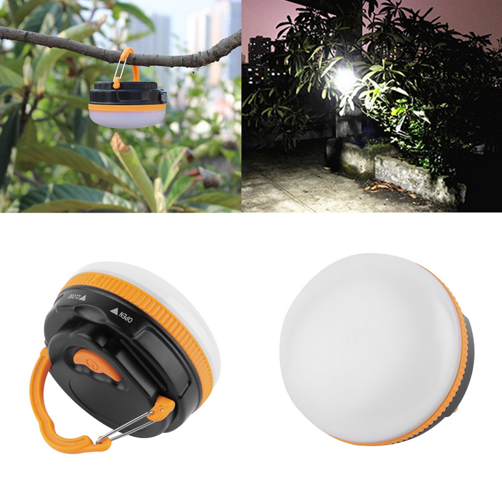 Outdoor Hanging Rechargeable Super Bright LED Emergency Tent Camping Light by
