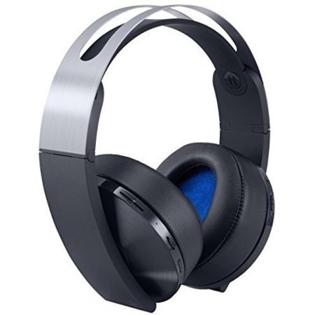 Sony Playstation 4 Wireless Platinum Headset, (Best Sony Ps4 Headset)