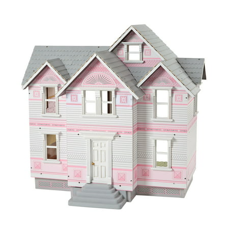 Melissa & Doug Classic Heirloom Victorian Wooden Dollhouse [White] Melissa And Doug Wood Classic Board