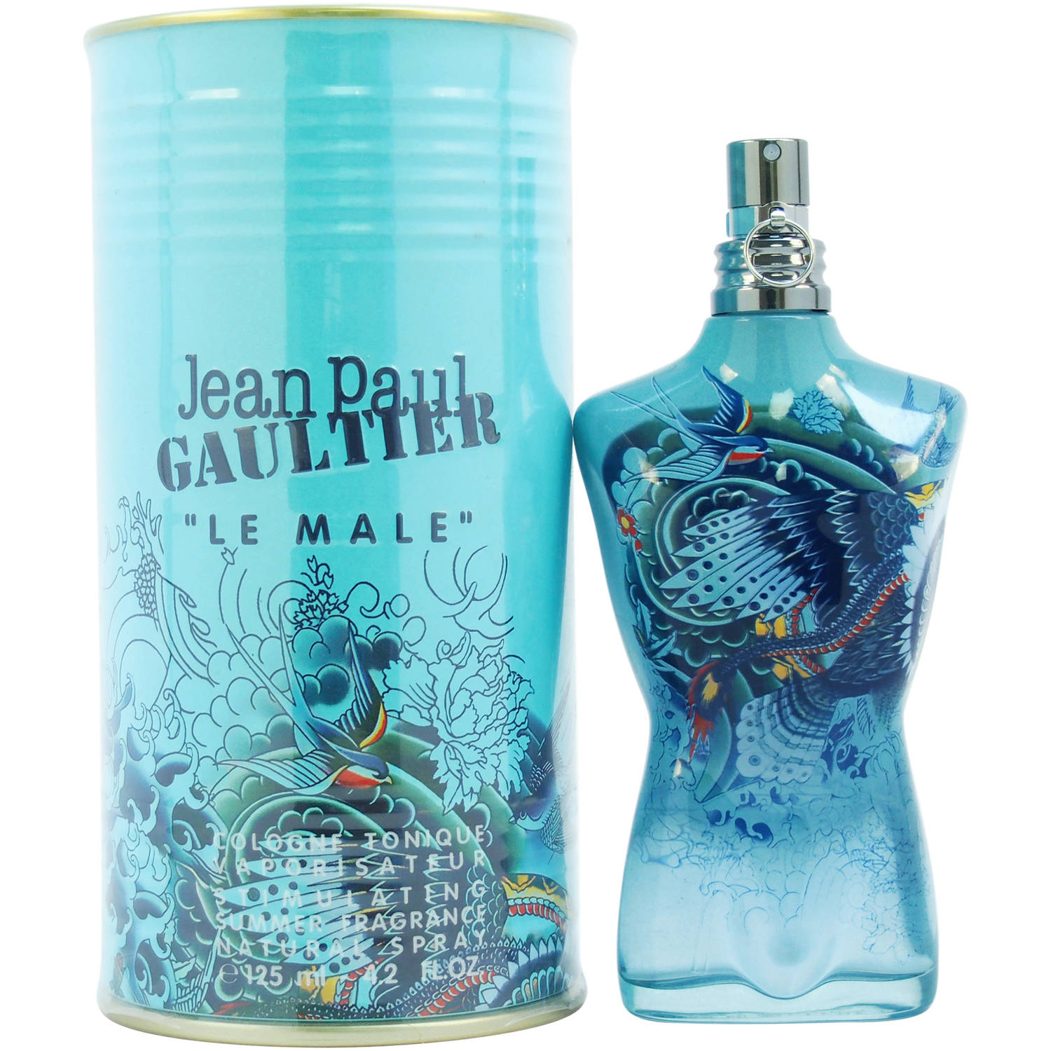 "Jean Paul Gaultier ""Le Male"" Summer Fragrance Natural Spray, 4.2 Fl Oz"