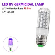 UV Light Sanitizer Lamp, 2020 New Ultraviolet UVC Germicidal LED Bulb with actual 255nm UV-C Wavelength, E27/E26 110V for Large Area Disinfection