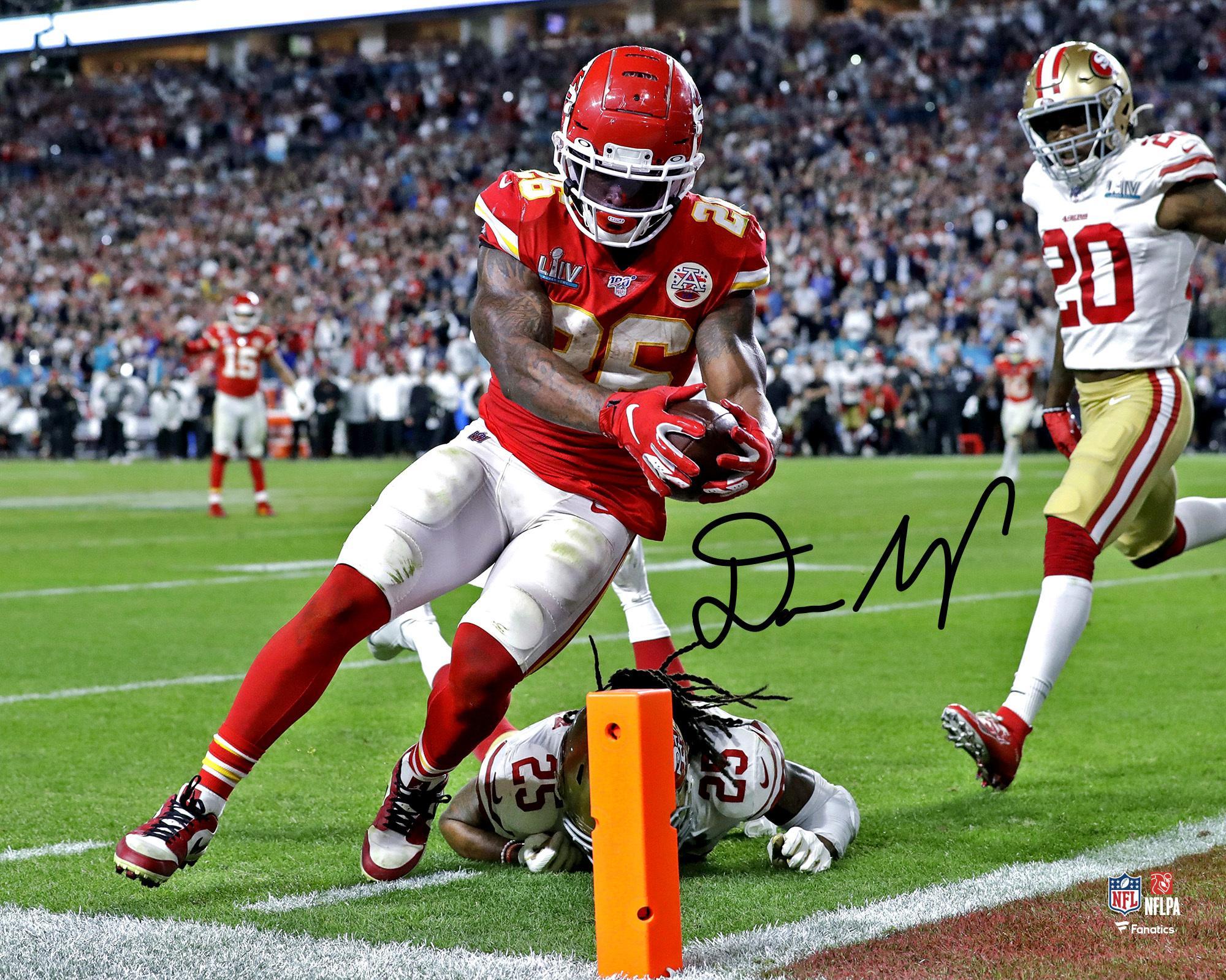Kansas City Chiefs Photograph Chark Jacksonville Jaguars Autographed 11 x 14 Catch vs D.J Fanatics Authentic Certified