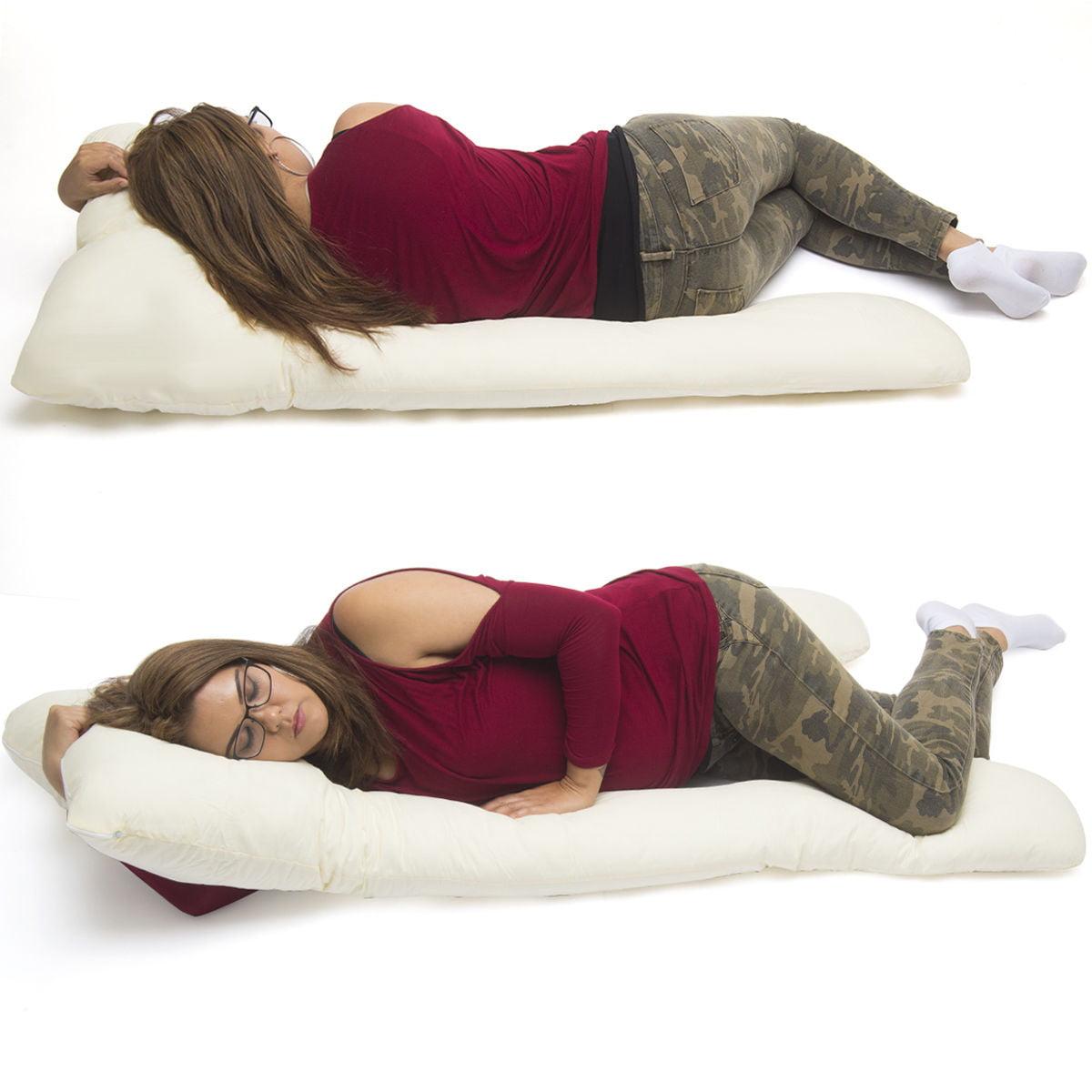 U Shape Total Body Pillow Pregnancy Maternity Comfort