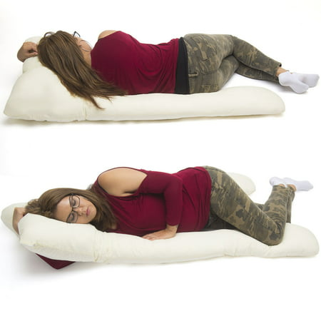 U Shape Total Body Pillow Pregnancy Maternity Comfort