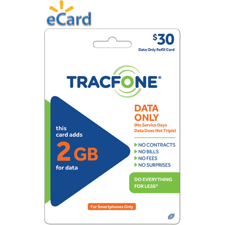 TracFone 2GB Data $30 (Email Delivery)