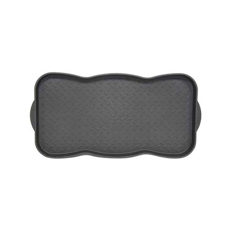 Bacova Guild 6126817 Black Polypropylene Boot Tray, 30 x 15 in. - image 1 of 1