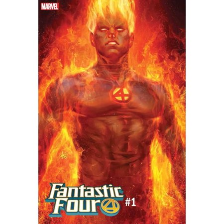 Marvel Fantastic Four #1 [Artgerm Human Torch Cover Variant]