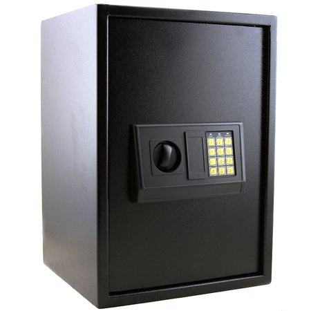 xlarge safe box gun storage electronic digital lock keypad security. Black Bedroom Furniture Sets. Home Design Ideas