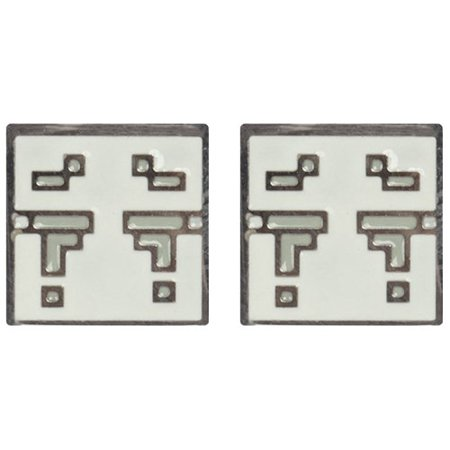 Earrings   Minecraft   Ghast Stud Licensed J6658