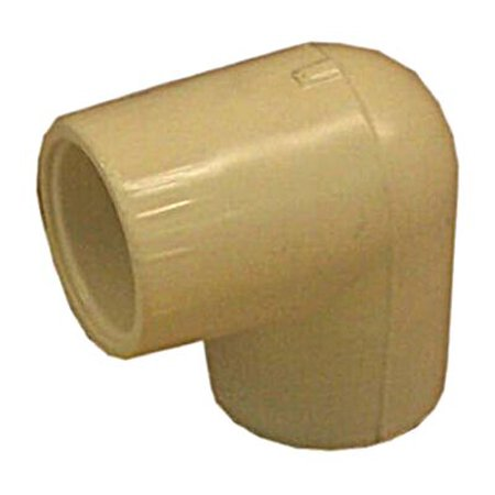New Nibco T00100D 1/2 Cpvc 90 Degree Elbow (Case of 50),1 Each
