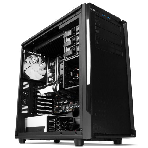 Nzxt 153572 Case Ca-so530-m1 Source 530 Full Tower 3/0/[6] Bay Usb Steel No Led Window Matte Black Interior No Power Supply Black Eatx