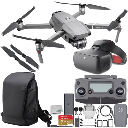 """DJI Mavic 2 Pro Drone Quadcopter with Hasselblad Camera 1"""" CMOS Sensor with DJI Goggles Racing Edition & DJI Carry More Backpack Starter"""