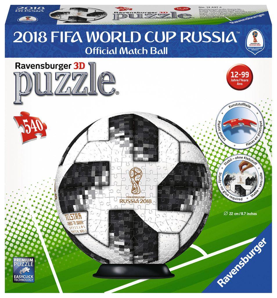 2018 Adidas World Cup Soccer Ball 540 pcs. Jigsaw Puzzles by Ravensburger 12437 by Ravensburger