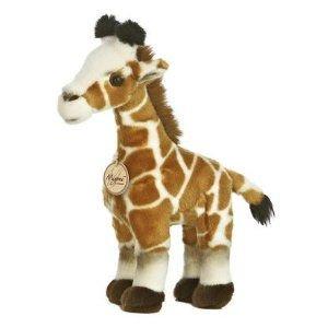 Giraffe 12 in. Miyoni - Jungle & Safari Stuffed Animal by Aurora Plush (10851) (Jungle Giraffe Toy)