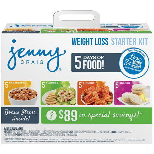 Jenny Craig Weight Loss Starter Kit, 5.6 lbs - Walmart.com