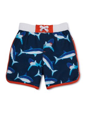 Wonder Nation Baby Toddler Boy Swim Trunks