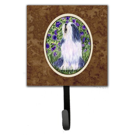 Caroline's Treasures Bearded Collie Wall Hook