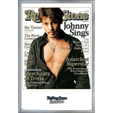 Rolling Stone - Johnny Depp - Chest