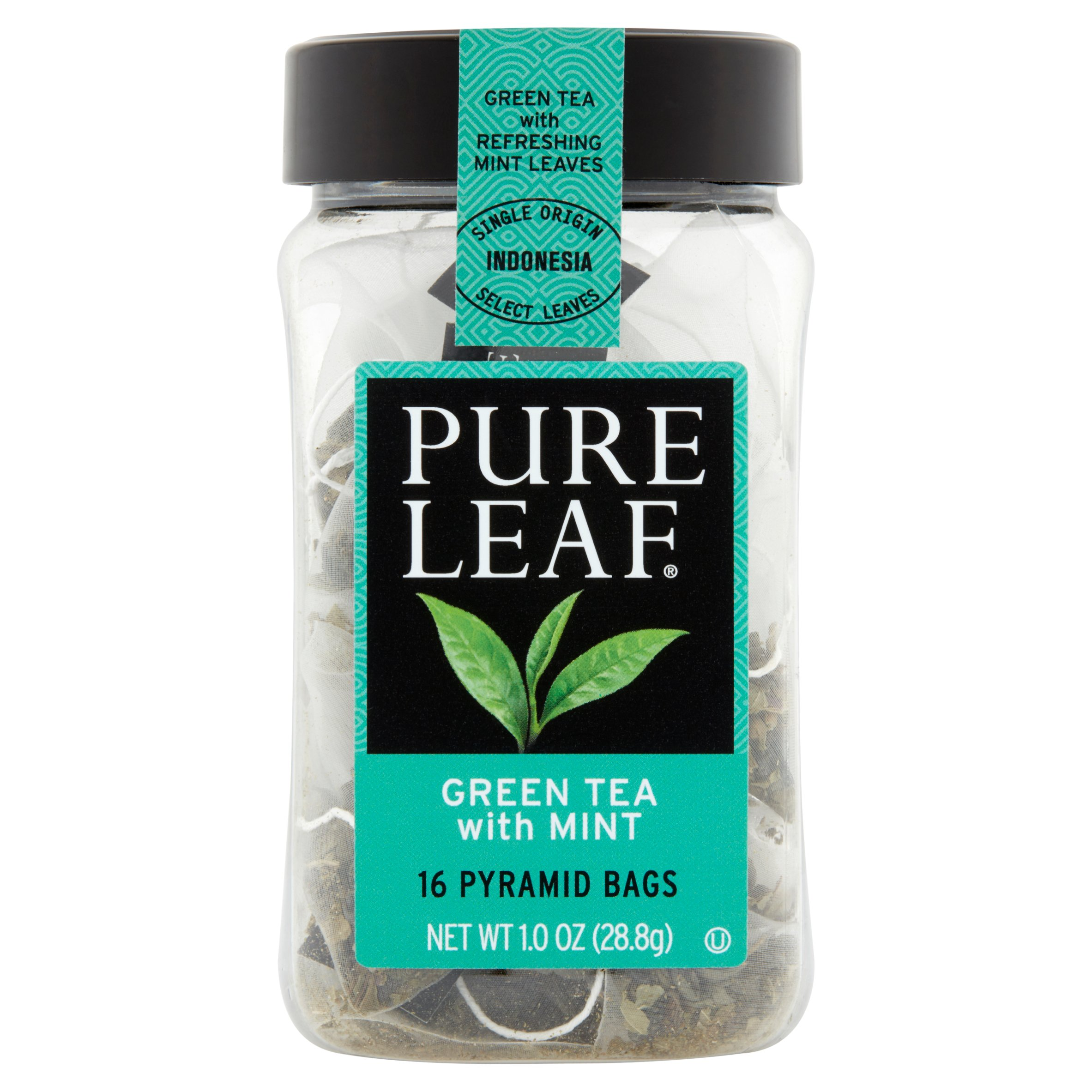 Pure Leaf Green Tea with Mint Tea Bags 16 ct