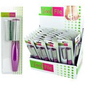 Foot File with Replacement File Countertop Display (36 Units Included)