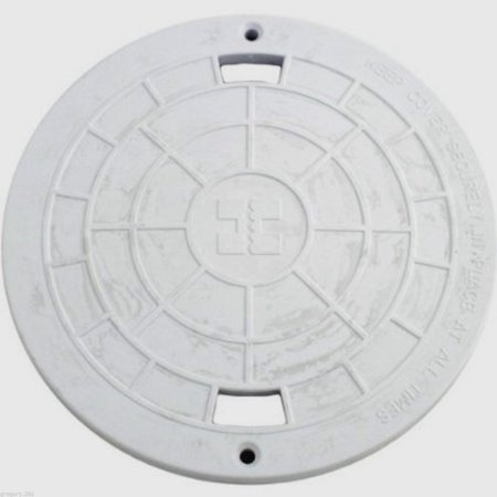 Image of Hayward SPX1070C Lid Cover Replacement for Hayward Automatic Skimmers - White
