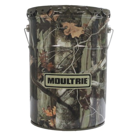MOULTRIE MFH-EF 6 5 Gallon Easy Feed Demand Self-Dispensing Hanging Deer  Feeder