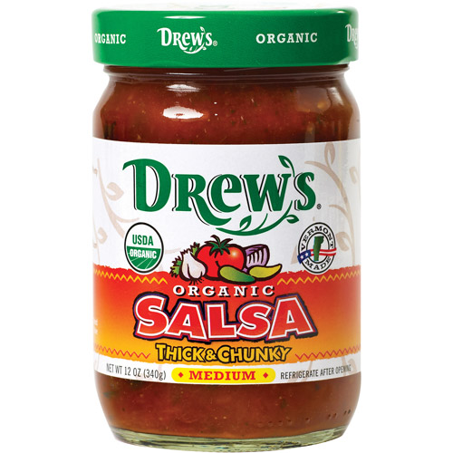 Drew's Thick & Chunky Medium Salsa, 12 oz (Pack of 6)