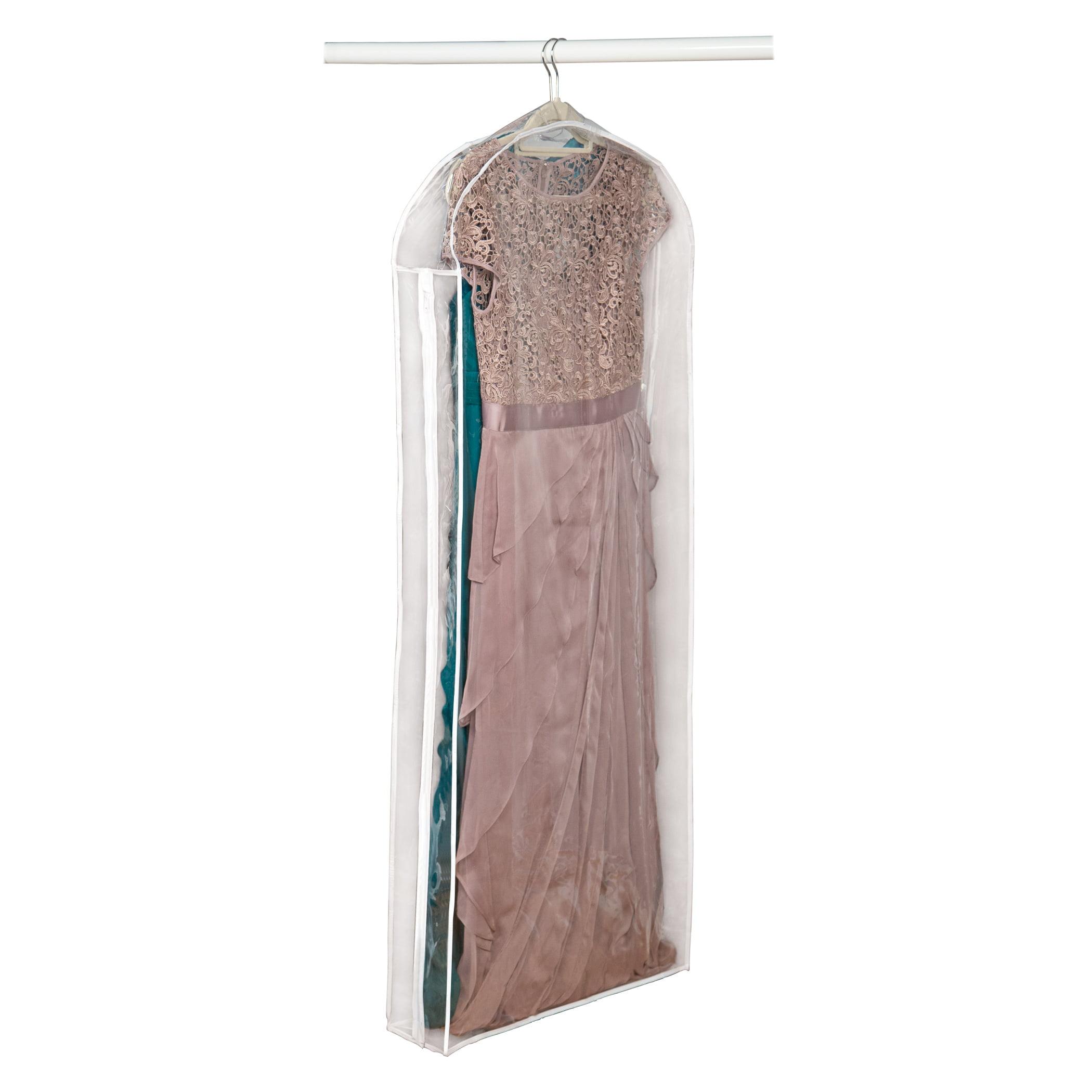 Clear Vinyl Gown Bag