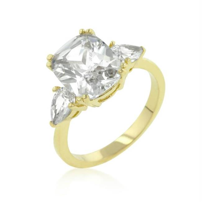 Radiant Pear Cut Engagement Triplet, <b>Size :</b> 10