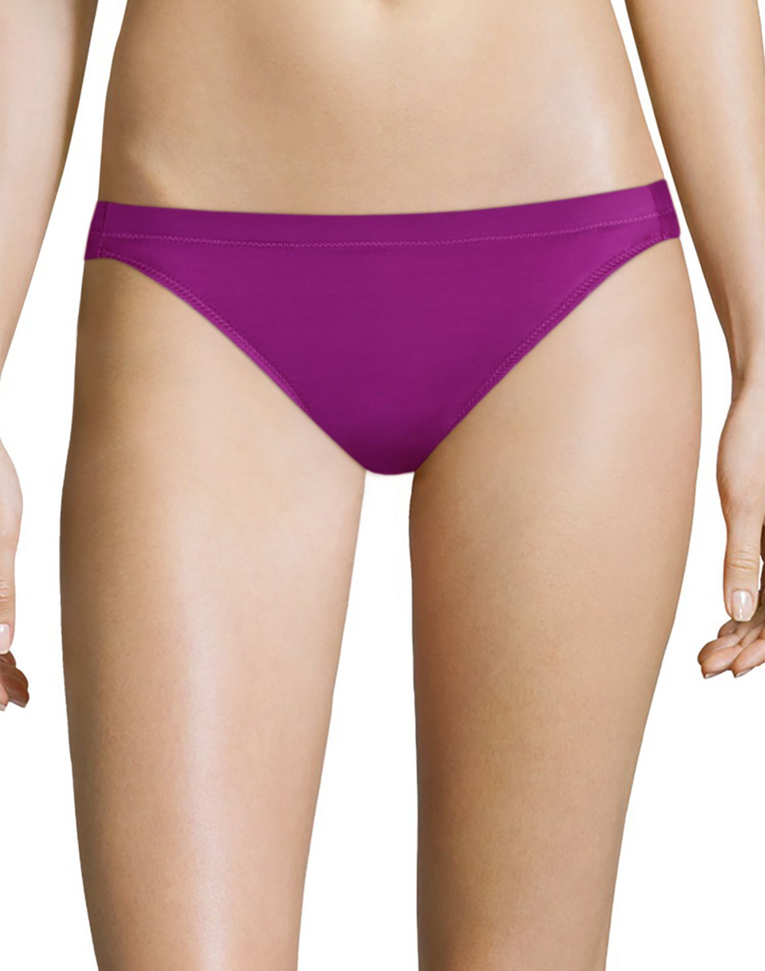 Maidenform Womens One Fab Fit Tailored Bikini, 5, Give Me Lemons Print