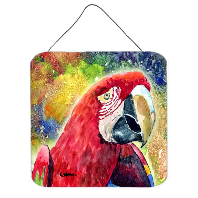 Carolines Treasures 8607DS66 Bird - Parrot Aluminium Metal Wall Or Door Hanging Prints - image 1 of 1