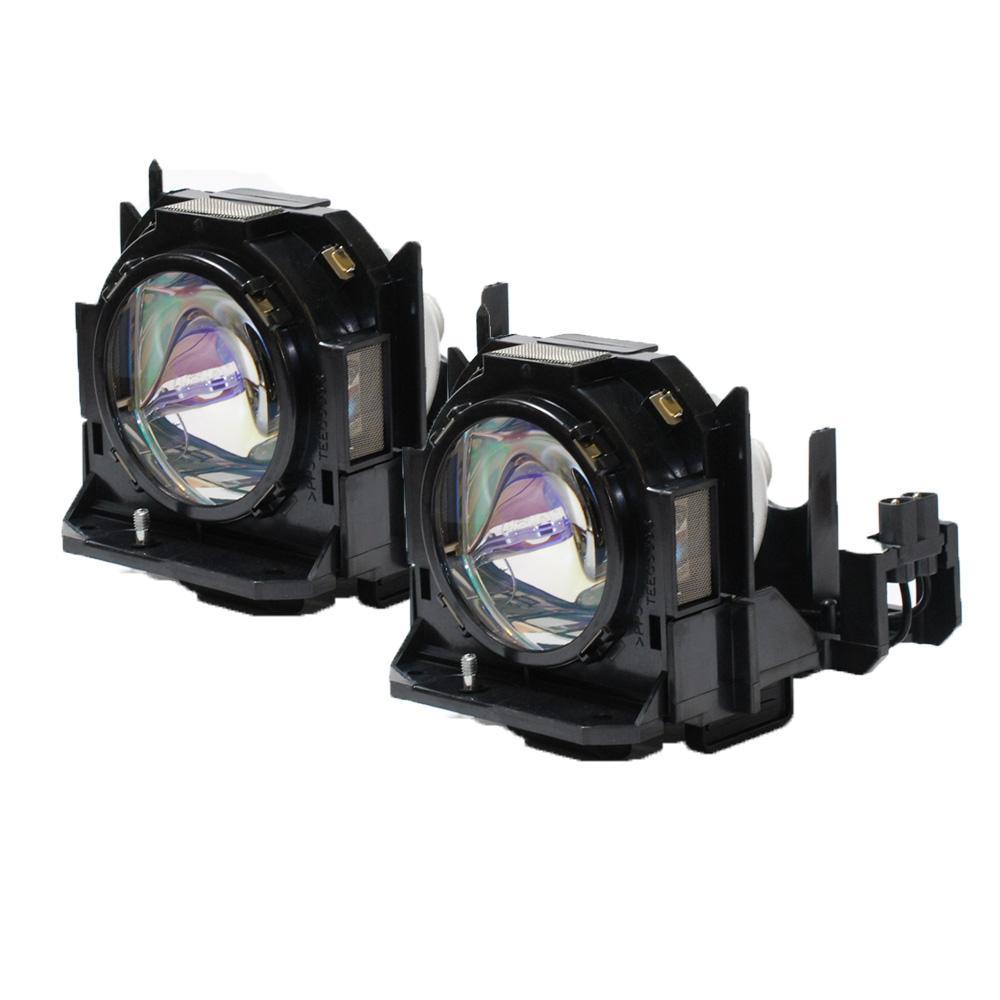 Panasonic PT-DZ6700EL Projector OEM Compatible Twin-Pack Original Phoenix Bulbs by