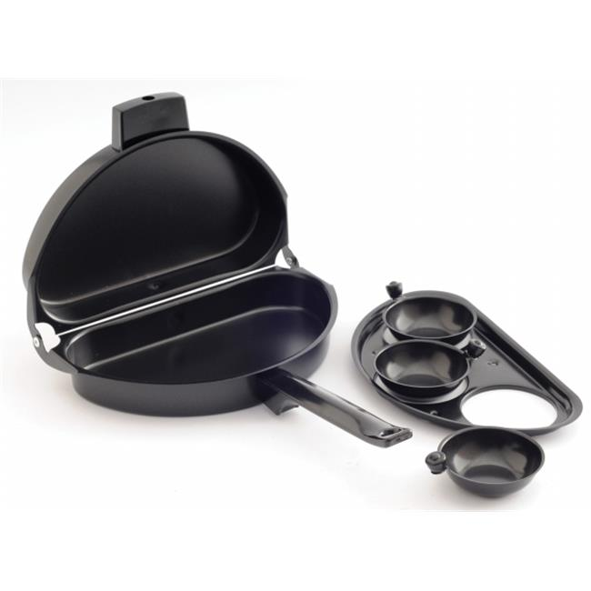 Norpro 664 Black Non-Stick Omelet Pan