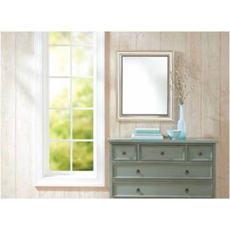 "Better Homes and Gardens 23"" x 28"" Silver Monte Clair Wall Mirror"