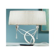 Mantra Lighting 1316 Siena 2 Light Table Lamp