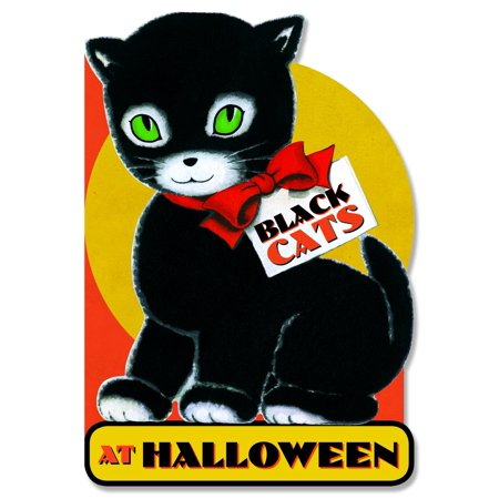 Halloween Black Cats (Black Cats at Halloween)