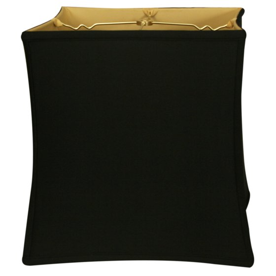Royal Designs 15 Quot Square Cube Bell Lamp Shade Black